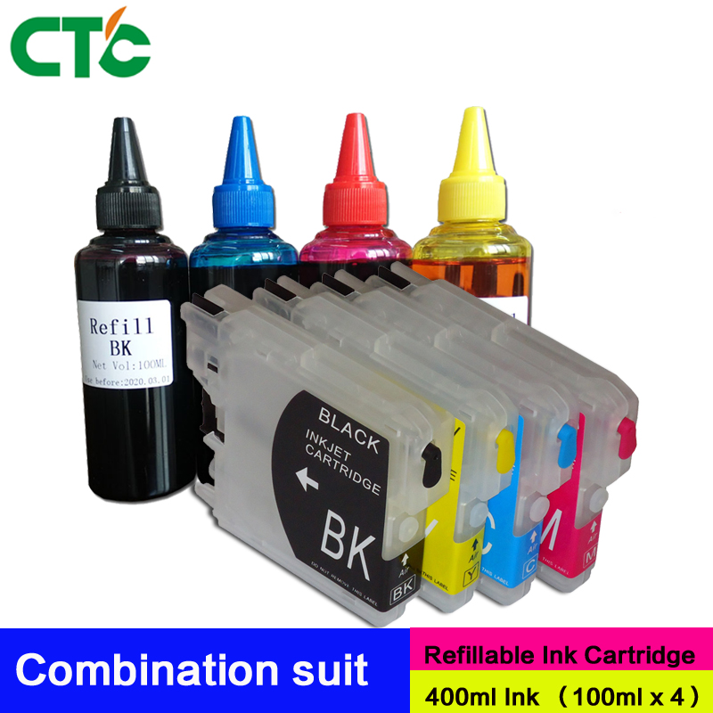 Ink-Cartridge 6490CN 6890CDW Refillable Compatible for Mfc-295cn/670cd/6490cn/.. title=