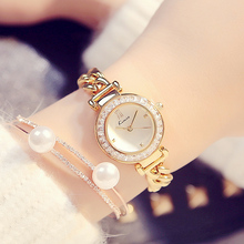 2018 Kimio New Luxury watches Women's Quartz bracelet wristwatches Twisted design Rhinestone circle ladies watches with Gift Box(China)