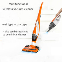 EVERTOP 3 In 1 Wet and Dry Polaroid Vertical Wireless Vacuum Cleaner 2700pa High Power Car Hom Handheld Mute(China)
