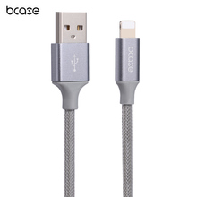 Bcase 15CM 8 Pin Nylon Braided Charging Data Transfer Cable fits for iPhone / iPad for iphone 5 5s 6 6s 6 plus 6s plus 7 7s