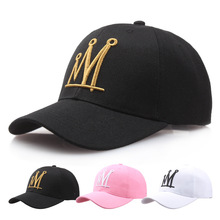 New hot Women man cotton brand crown baseball caps snapback couple hip hop hats NY LA polo casual hats high quality golf caps(China)
