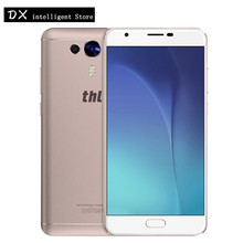 "Original THL Knight 1 4G LTE FDD Mobile Cell Phone 5.5"" FHD MTK6750T Octa Core 3GB+32GB Android 7.0 13MP Fingerprint Smart Phone(China)"