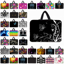 Many Designs Laptop Sleeve Handle Bag Funda Portatil 10 12 13 14 15 17 Inch Notebook Computer Cover Cases Neoprene Pouch Bolsas