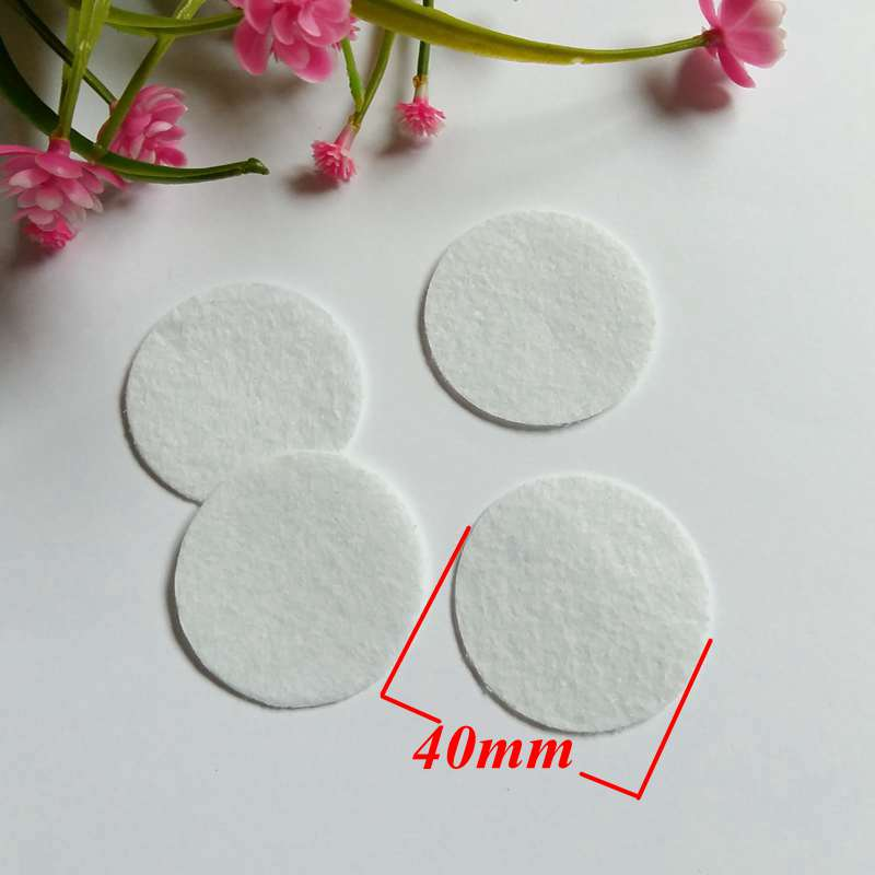 New 20pcs Wood Round Pads Craft Home Decoration Lots Size Vary 20-40MM
