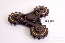 Handspinner Toys Four gears Hand Spinner ABS Material Professional Fidget Spinner For Autism EDC Toys T139
