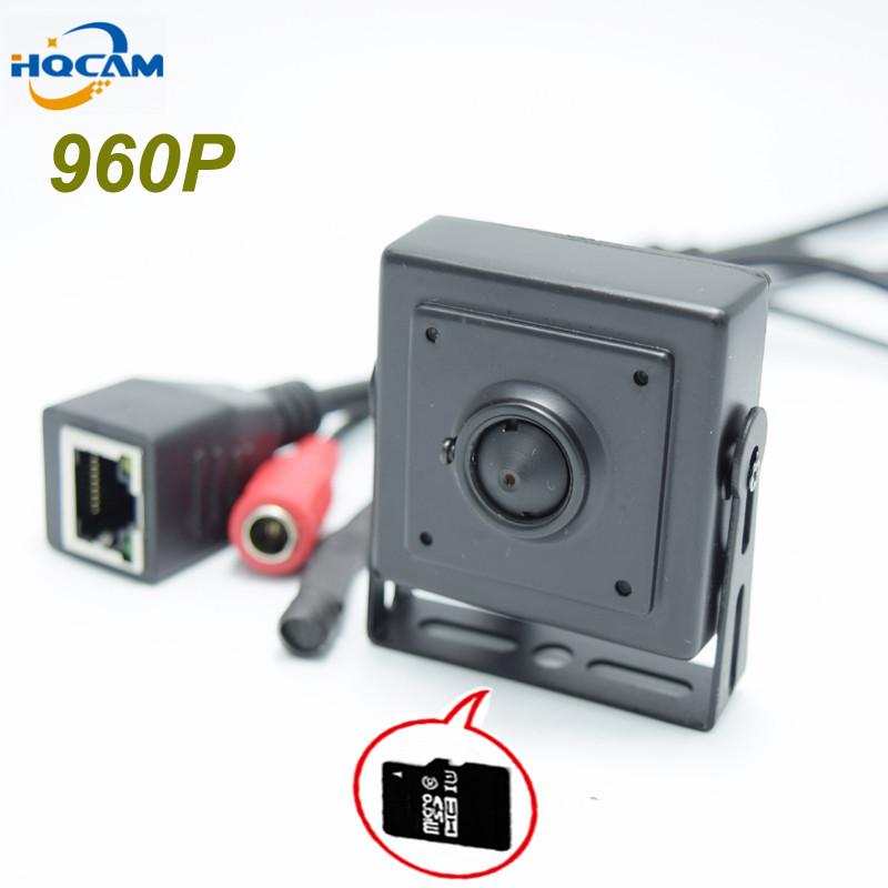 HQCAM TF Card slot 960P Audio Mini IP Camera Home Security Camera IP Camera Indoor Security CCTV IP Camera support TF Card slot<br>