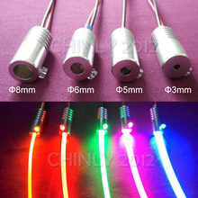 1.5W DC12V car use home use car light car bulb side glow fiber optic light illuminator(China)