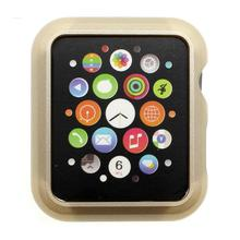 New Luxury Hard Aluminum Metal Snap-on Case Cover Skin Shell Protector for Smart Apple Watch 38mm 42mm Case 5 Colors