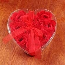 JETTING Silk Cotton Bondage Rope Soft Touch Tie Up Fun Bath Body Flower Heart Favor Soap Rose Petal Wedding Decoratio Party Gift