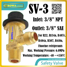 safety valves in angle- way execution, specially designed for protection of vessels and other components against excess pressure(China)