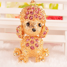 Cute Dog Keychain Lovely & Sporty Men & Women Key Chains Factory Direct Sale MB(China)