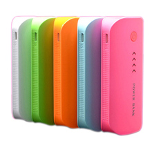 Real 5600mAh Power Bank USB 18650 External Battery Pack Portale Charger powerank