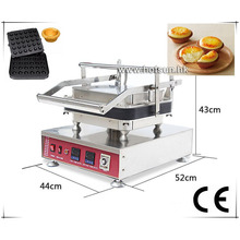 Free Shipping Professional Stainless Steel 110V 220V Electric 30pcs Egg Tart Shell Maker Machine With Removable Plate