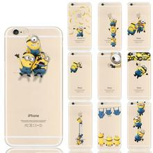 Minion Minnie Case For Coque iphone 4S 5 5S 5C SE 6 6S 7 Plus Luxury Cases for Samsung Galaxy J3 J5 A3 A5 2016 Grand Prime Cover