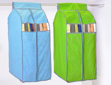 Bamboo Fiber Clothing Hanging Garment Suit Coat Dust Cover Wardrobe Storage Bag