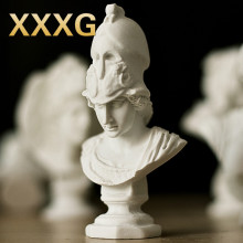 XXXG / /Figure American new leaf its small ornaments kids gift mini sketch drawing small plaster sculpture works of art(China)