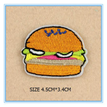 DOUBLEHEE 026 Fruit Hamburg Embroidery Patches Iron On Or Sew Fabric Sticker For Clothes Embroidered Appliques DIY