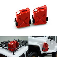 EBOYU(TM)  2pcs 1/10 Scale ABS Fuel Tank for 1/10 Axial Wraith SCX10 EXO AX10 Truck Accessory