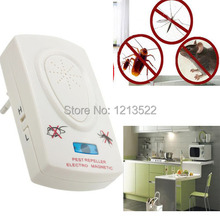 EU Plug 110-220V Ultrasonic Pest Repeller Electronic Insect Repellent eliminate Device Pest Control Rodent Mouse cockroaches