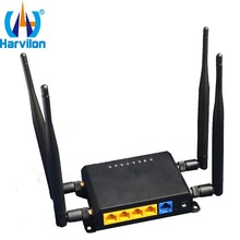 2.4Ghz Industrial WiFi Router OpenWrt LAN WAN 4G LTE Wireless Router with Sim Card Slot(China)