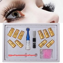 New 8 In1 Pro Extra Longer Curling Eyelash Lashes Perming Solution Full Kit Eyelash Perm Lash Wave Lotion Glue Perm Box Set