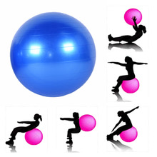 75cm Fitness Yoga Ball Smooth Balance Fitness Gym Exercise  With Pump Balance Pilates  professional Yoga Exercise Ball CrossFit