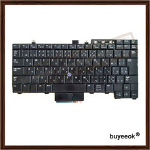 Original Used Laptop Keyboard Replacement for DELL E6400 E6410 M4400 M2400 E6500 Japanese Version With Pointer