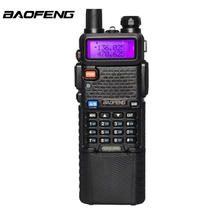 Upgrade BaoFeng UV-5R Walkie Talkie VH/UHF Dual Band Two Way Radio Transceiver 3800mah Battery 128 Channels LED Flashlight(China)