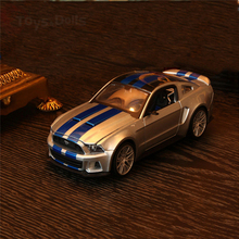 1:24 Speed 2014 Ford Mustang Diecast Model Racing Car toy brinquedo Car Vehicle kids Christmas gift collection