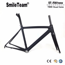 2018 New Model UD Full Carbon Road Bike Frames Racing Bicycle Carbon Framesets Cycling Road Bike Frames with Fork,Seatpost,Clamp(China)