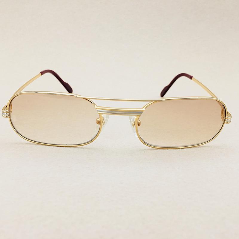 d88fbcafdc Metal Wire Glasses Vintage Sunglasses Men Luxury Mens Sunglasses ...