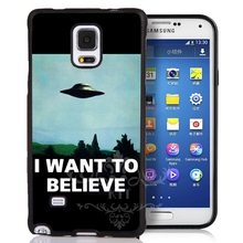 The x files i want to believe preto sacos de telefone celular case capa para iphone 4S 5S 7 plus samsung s3 s4 s5 5c se 6 s ipod touch 4 5
