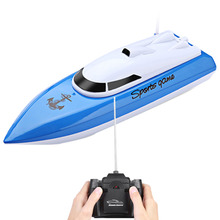Buy High Speed RC Boat Charging Outdoor Toys Racing Remote Control Boat Waterproof Mini Speed Boat Airship Birthday Gifts Chidren for $26.30 in AliExpress store