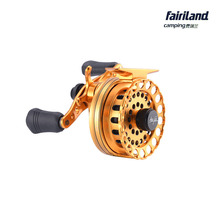 6.5cm/2.6in 5BB gear ratio 2.6:1 aluminum raft fishing reel wheel Left/Right handed smooth and balanced casting fly ice reel