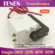 Single Laser High Voltage Transformer Coil For 30W 35W 40W 45W 50W CO2 Laser Power Supply Parts Accessories(China)