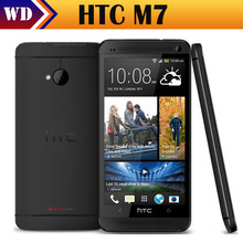 ONE M7 Original HTC One M7 Cell Phone with 4.7 inch Android Quad Core 2G RAM+32G ROM Unlocked Refurbished phone/ Free Shipping