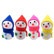 Snowman Doll Candy Stocking Filler Apple Box Gift Bags New Year Ornament Merry Christmas Gift Xmas Decoration for Home(China)