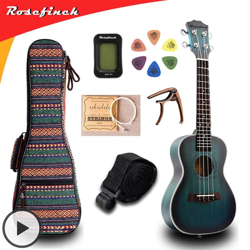 21 Zoll Mini Ukulele Uke Gitarre Musik Spielzeug für Erwachsene Kinder