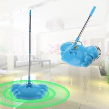 Stainless Steel Sweeping Machine Push Type Magic Broom Dustpan Handle Household Cleaner Hand Push Sweeper Floor Cleaning Tool(China)