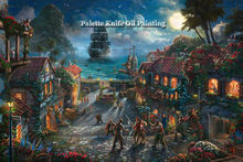 Thomas Kinkade Oil Paintings Tangled Art Decor Painting Giclee Canvas Wall Picture Art Framed Cuadros Spray Posters andPrints 17(China)