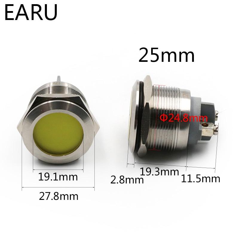 Green Metal 5mm LED Signal Indicator