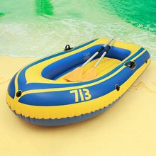 Inflatable boats summer double thicken water sport boat 2-3 people PVC boat hover craft inflatable new save boat(China)