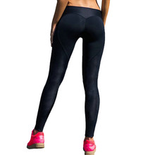 2017 Push Up Elastic Fitness Women Stretch Running Tights Pants Elastic Sports Gym Pants Seamless Fitness Sports Yoga Leggings