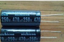 FREE SHIPPING Imports renovation of the power capacitor 250V 470UF 18*40
