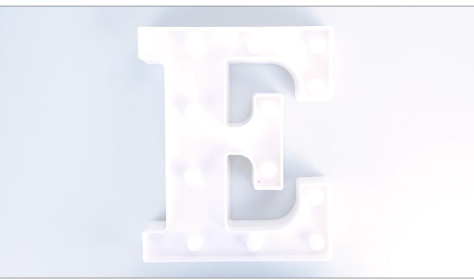 LED Night Light 3D Letters (14)