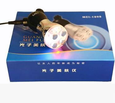 The colourful portable massager mesotherapy rf skin photon massager multifunctional massage from head to toe<br>