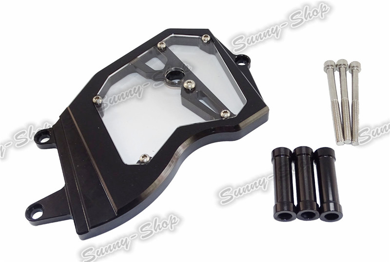 Front Sprocket Cover for KAWASAKI ZX6R 2006-2014 Black B