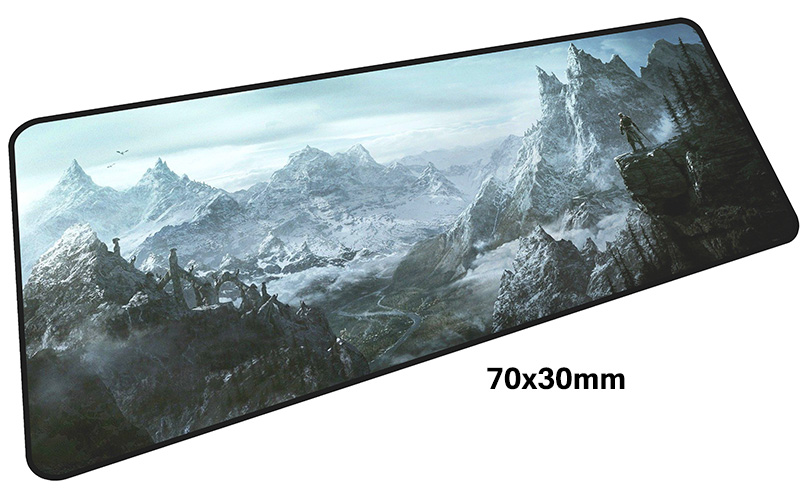 skyrim mouse pad gamer 700x300mm notbook mouse mat large gaming mousepad large Birthday present pad mouse PC desk padmouse 4