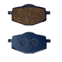 For GILERA 125 Apache 1991- RC 125 RC125 Top Rally 1989-1992 RC 600 RC600 1989-1990 Motorcycle Brake Pads Rear(China)