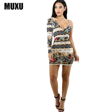 Buy fashion sexy dress women floral womens clothing fashionable dresses print floral dress clothes women elegant jurken short jurk for $24.60 in AliExpress store